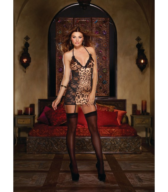 Kleid DR8667 Leopard