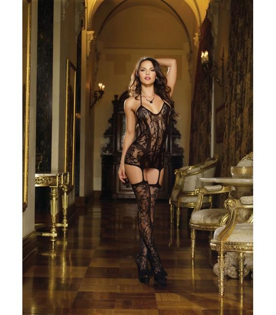 Kleid DR0145 schwarz Großbild