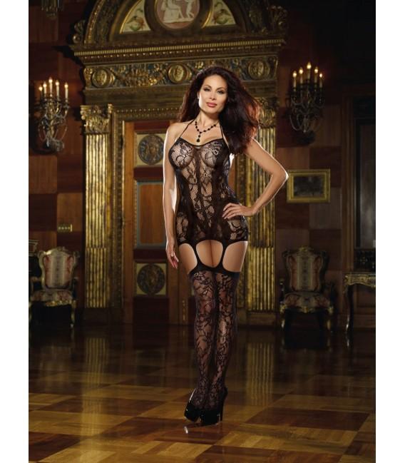 Kleid DR0145 schwarz Bild 3 Großbild