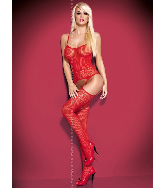 Bodystocking G307 rot