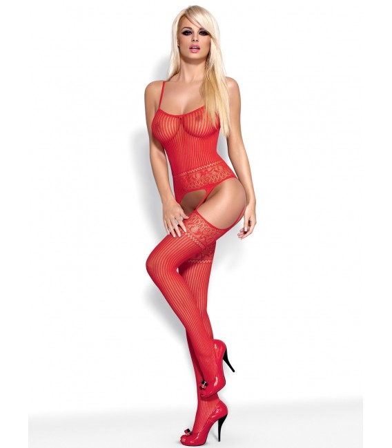 Bodystocking G307 rot Bild 4