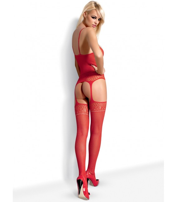 Bodystocking G307 rot Bild 5