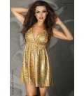 Minikleid CR3415 gold