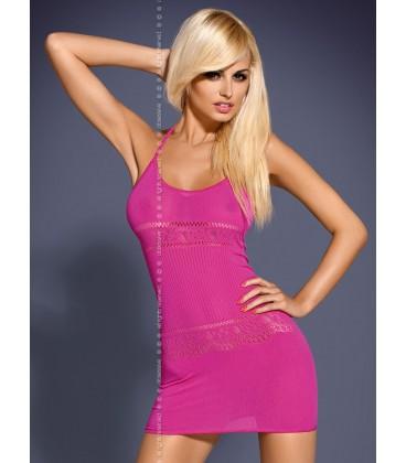 Minikleid D307 pink