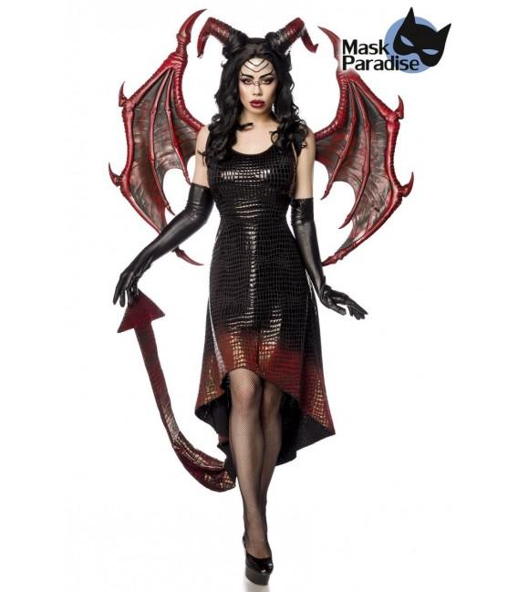 Dragon Lady schwarz/rot - AT80150 - Bild 1 Großbild
