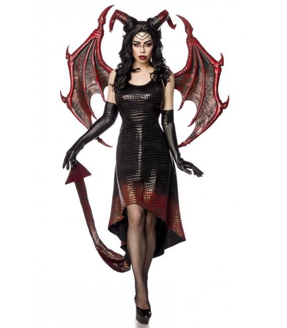 Dragon Lady schwarz/rot - AT80150 - Bild 2 Großbild