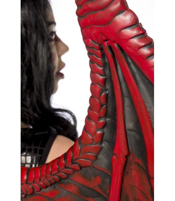 Dragon Lady schwarz/rot - AT80150 - Bild 4 Großbild