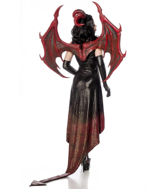 Dragon Lady schwarz/rot - AT80150 - Bild 5 Großbild