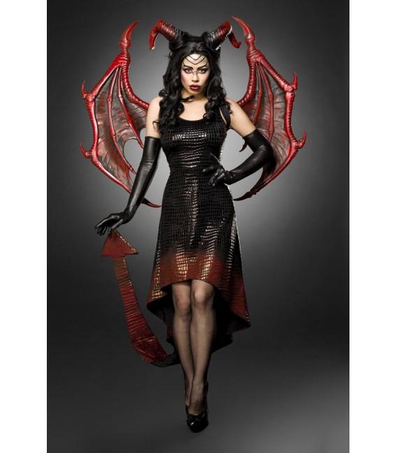 Dragon Lady schwarz/rot - AT80150 - Bild 6 Großbild