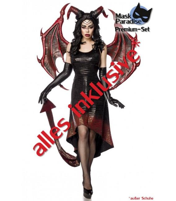 Dragon Lady schwarz/rot - AT80150 - Bild 7 Großbild