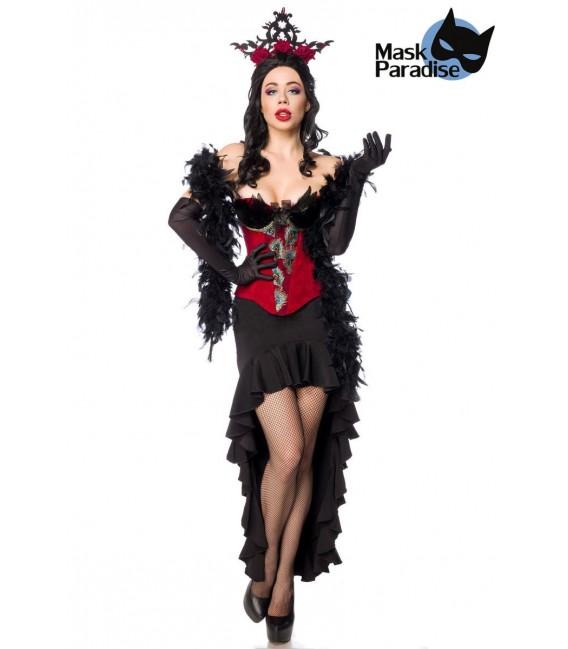 Burlesque Queen schwarz/rot - AT80152 - Bild 1 Großbild