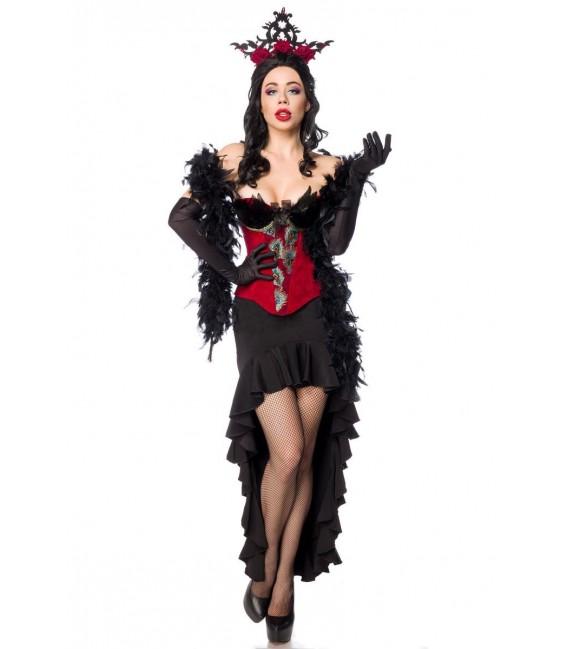 Burlesque Queen schwarz/rot - AT80152 - Bild 2 Großbild