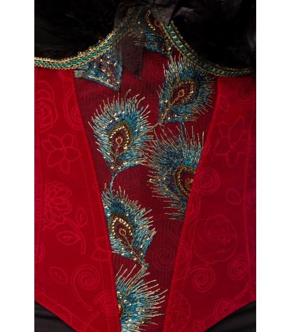 Burlesque Queen schwarz/rot - AT80152 - Bild 5 Großbild