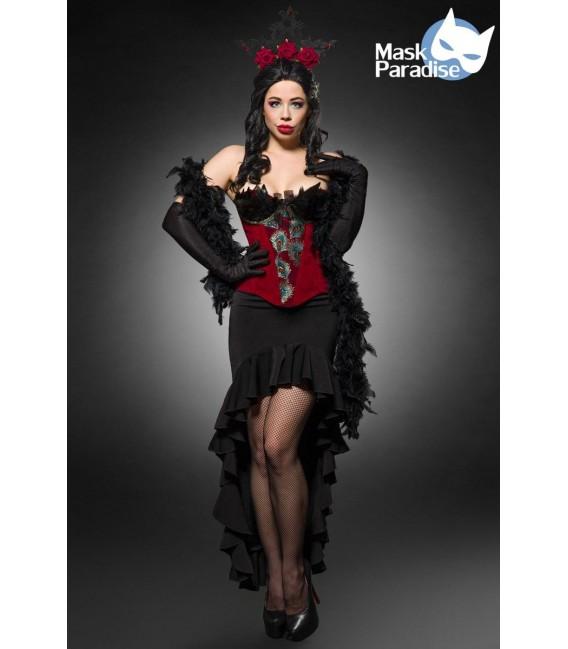 Burlesque Queen schwarz/rot - AT80152 - Bild 6 Großbild