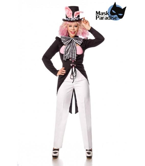 Bunny Hatter weiß/schwarz - AT80153 - Bild 1 Großbild