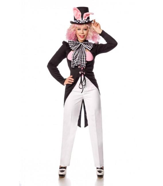 Bunny Hatter weiß/schwarz - AT80153 - Bild 2 Großbild