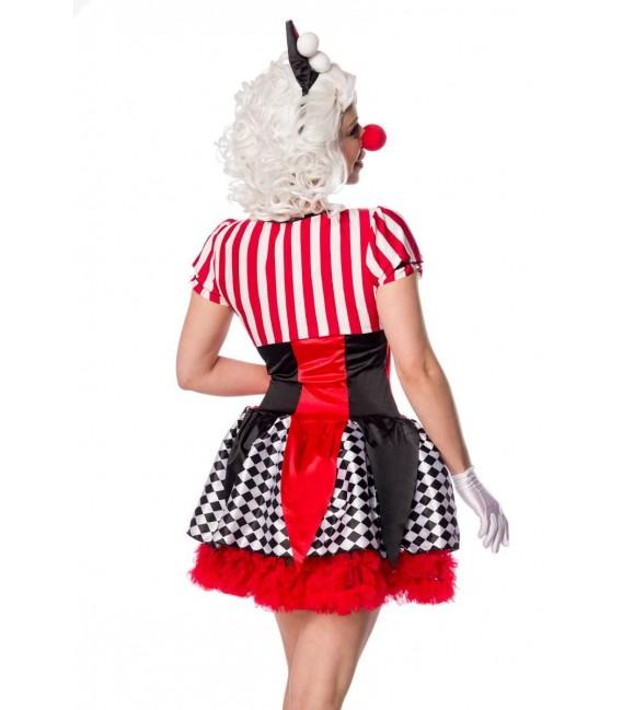 Sexy Clown rot/schwarz/weiß - AT80155 - Bild 3 Großbild