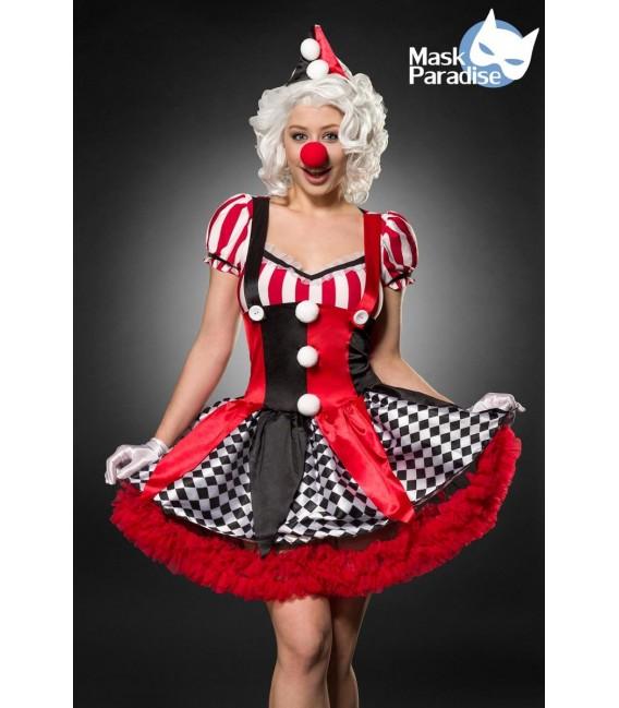 Sexy Clown rot/schwarz/weiß - AT80155 - Bild 6 Großbild