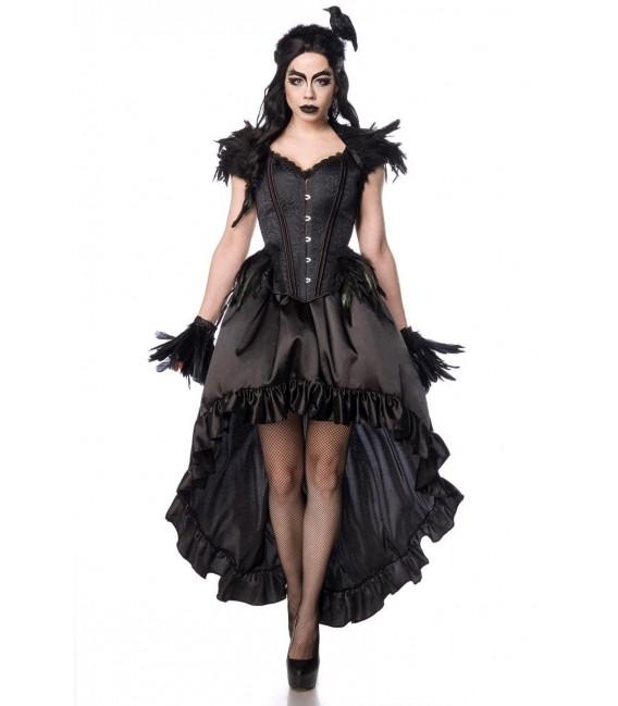 Gothic Crow Lady schwarz - AT80158 - Bild 2 Großbild