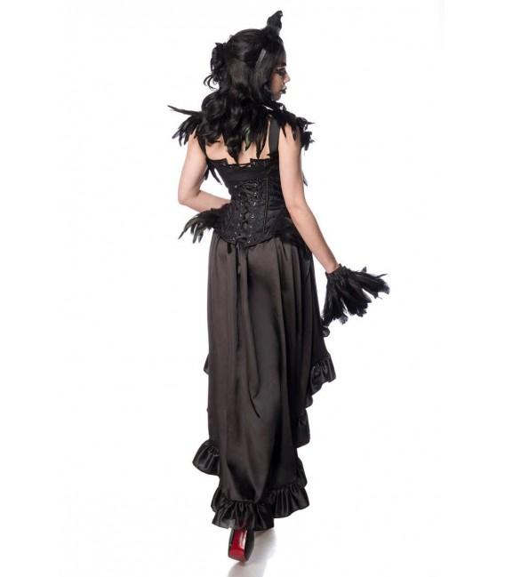 Gothic Crow Lady schwarz - AT80158 - Bild 3 Großbild