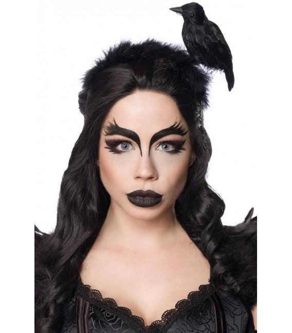 Gothic Crow Lady schwarz - AT80158 - Bild 4 Großbild