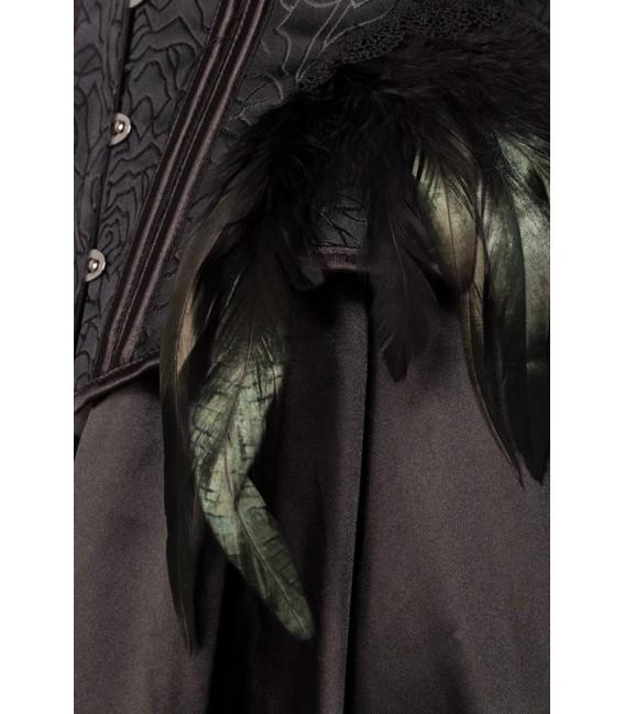 Gothic Crow Lady schwarz - AT80158 - Bild 5 Großbild