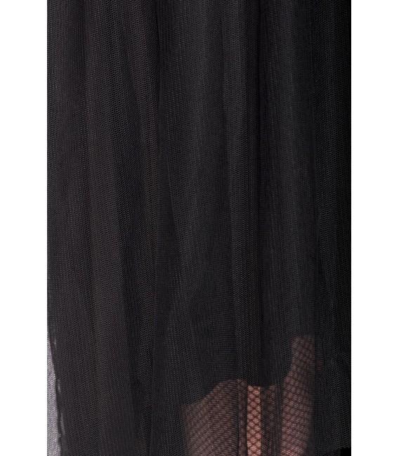 Gothic-Tüllrock  schwarz - AT90011 - Bild 5 Großbild