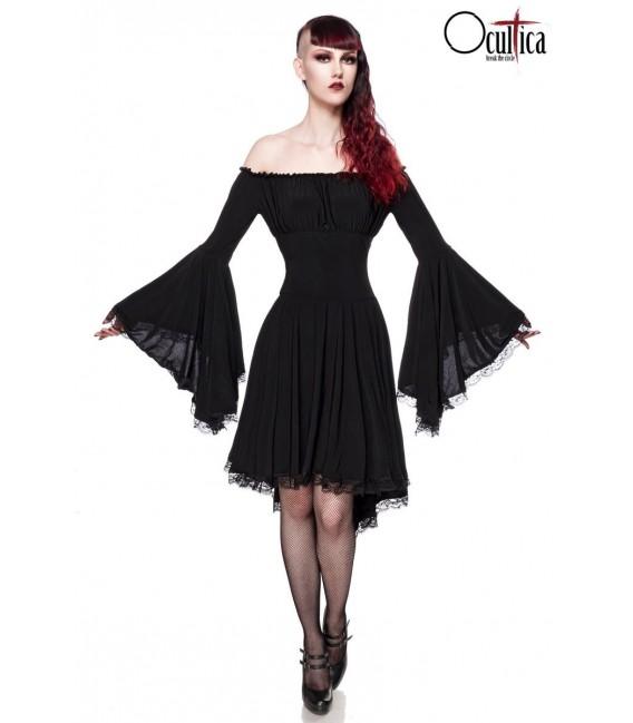 Jerseykleid schwarz - AT90015 - Bild 1 Großbild