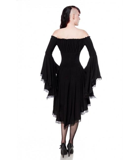 Jerseykleid schwarz - AT90015 - Bild 2 Großbild