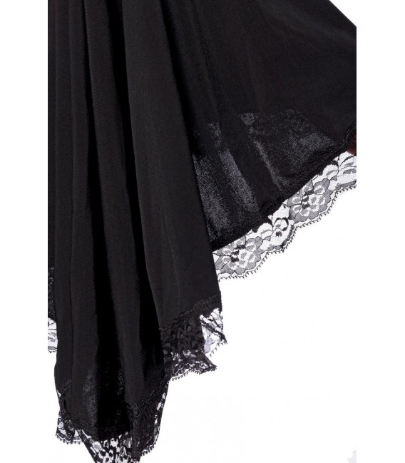 Jerseykleid schwarz - AT90015 - Bild 3 Großbild