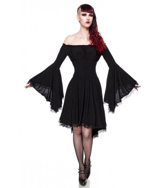 Jerseykleid schwarz - AT90015 - Bild 4 Großbild