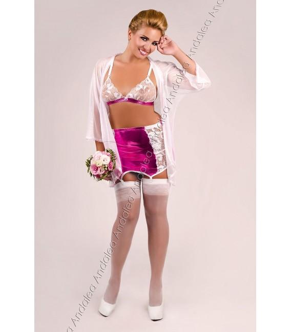BH + Garter Belt + Dressing Gown Set M/1036 Bild 2