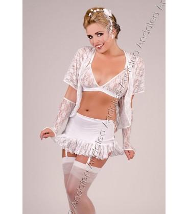 BH + Garter Belt + Dressing Gown Set M/1037