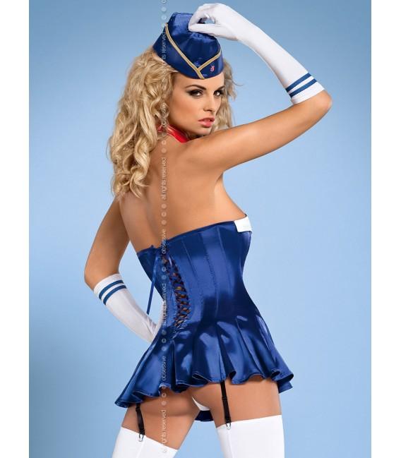 Stewardess Corsage Bild 2
