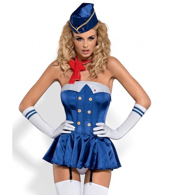 Stewardess Corsage Bild 5