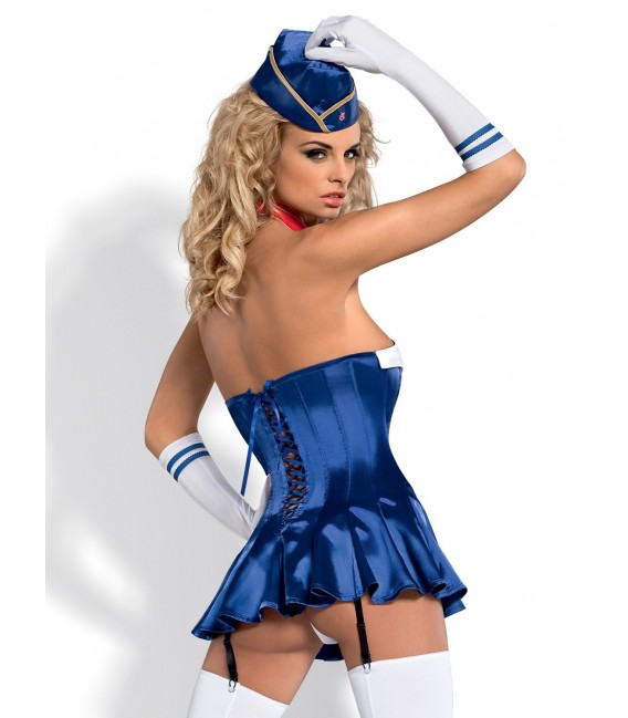 Stewardess Corsage Bild 6