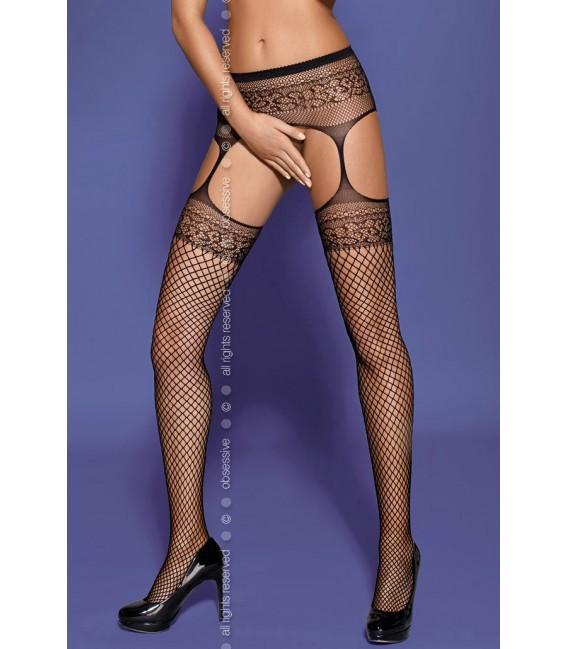 Garter Stockings S502 schwarz Bild 3
