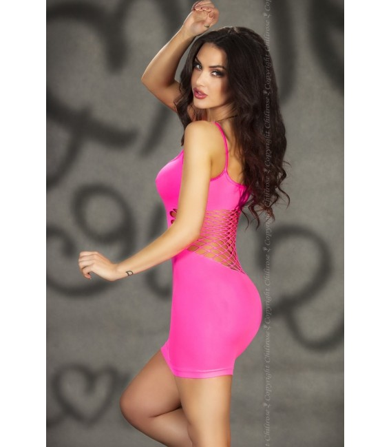Nahtloses Minikleid CR3612 pink Bild 2