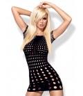 Rocker Dress short schwarz