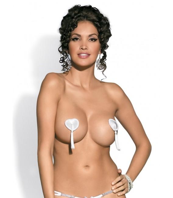 Tassel Nipple Covers weiß Bild 2