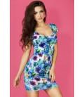 Kleid CR3683 blau