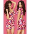 Kleid CR3683 pink