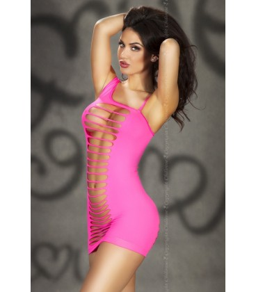 Nahtloses Minikleid CR3217 pink