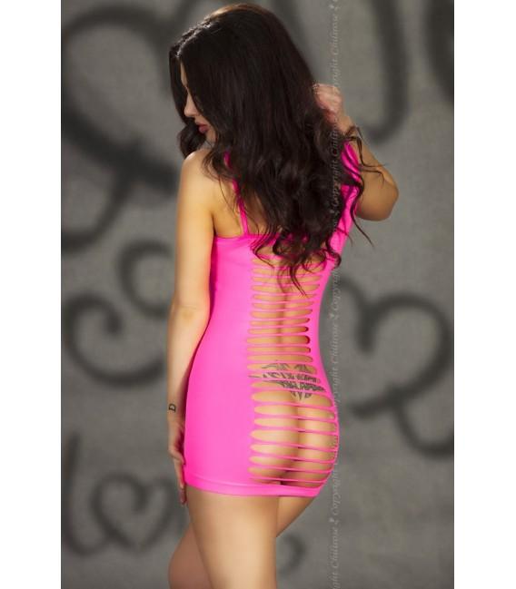 Nahtloses Minikleid CR3217 pink Bild 2