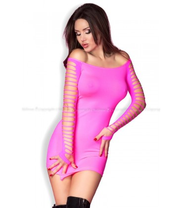 Nahtloses Minikleid CR3608 pink