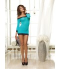 Chemise DR8084 turquoise