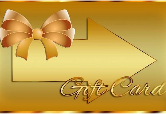 Neue Kategorie Geschenkgutscheine und Geschenkkarten Bild