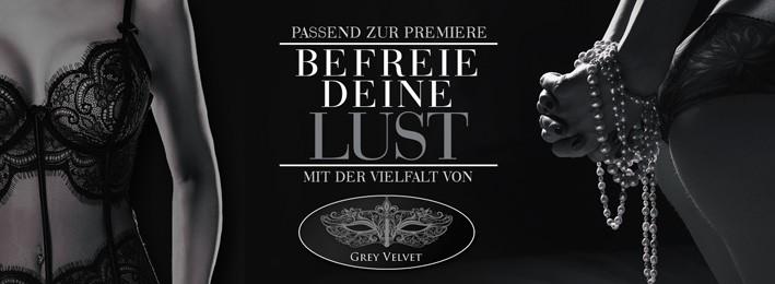 Grey Velvet - Neue Produkte zum neuen Filmstart